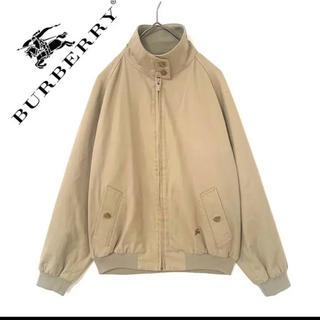 BURBERRY - burberry  バーバリー スイングトップ  メンズ ベージュ ジャケット