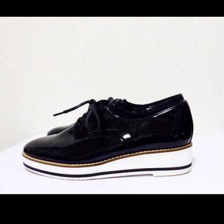 ダイアナ(DIANA)の23cm*美品*DIANA プラットフォーム ローファー ボリュームソール(ローファー/革靴)