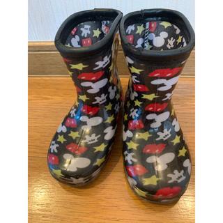 ディズニー(Disney)のミッキー長靴 レインブーツ 14cm(長靴/レインシューズ)