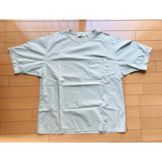 ジムフレックス(GYMPHLEX)のジムフレックス 半袖 カットソー Lサイズ ライトベージュ(Tシャツ/カットソー(半袖/袖なし))