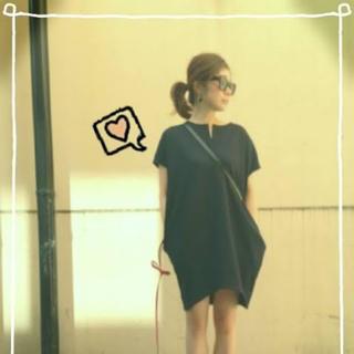 バーニーズニューヨーク(BARNEYS NEW YORK)のyoko chan ヨーコチャン♡コクーンワンピース(ミニワンピース)
