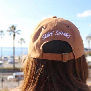 ロンハーマン(Ron Herman)の海デートに☆LUSSO SURF スウェード刺繍キャップ☆帽子 ベイフロー(キャップ)