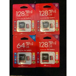 ニンテンドースイッチ(Nintendo Switch)のmicro SDカード 128GB Switch Lite共用 ①(PC周辺機器)