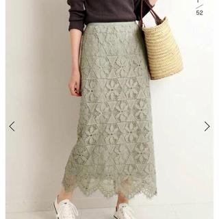 IENA - iena レースタイトスカート 新品未使用