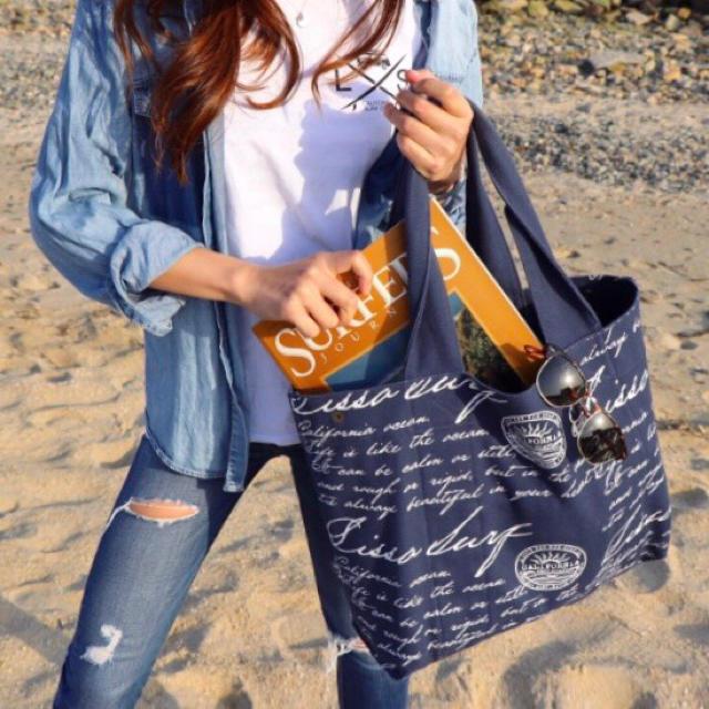 Ron Herman(ロンハーマン)のリバーシブルで便利☆LUSSO SURF トートバッグ☆RVCA ベイフロー メンズのバッグ(トートバッグ)の商品写真