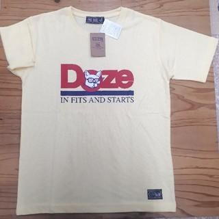 新品タグ付き 黄色 フレンチブルドッグ Tシャツ(Tシャツ/カットソー(半袖/袖なし))