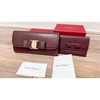 Ferragamo - 美品/フェラガモ/名刺ケース/カードケース/ミニ財布