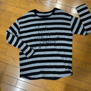 ボーダー ロンT(Tシャツ/カットソー(七分/長袖))