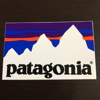 patagonia - 「縦5.7cm横8.8cm」patagonia公式ステッカー