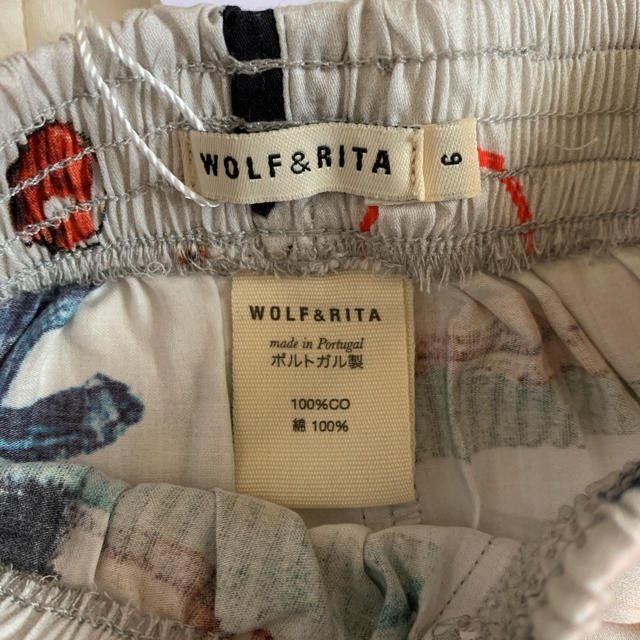 こどもビームス(コドモビームス)の最終お値引き 新品 タグ付き ウルフ&リタ ショートパンツ 6 キッズ/ベビー/マタニティのキッズ服女の子用(90cm~)(パンツ/スパッツ)の商品写真