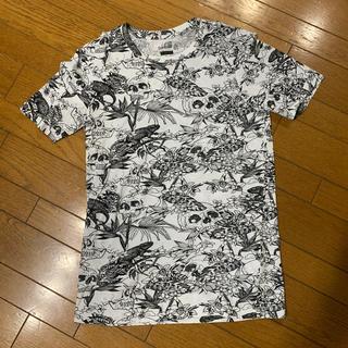 ベルシュカ(Bershka)のBershka ドクロ柄Tシャツ(Tシャツ/カットソー(半袖/袖なし))