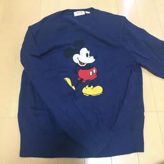 UNIQLO - ミッキーマウス セーター 150 ネイビー
