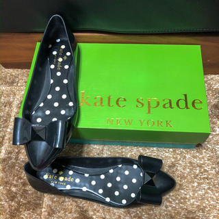 ケイトスペードニューヨーク(kate spade new york)のkatespade ケイトスペード  レインシューズ リボン(レインブーツ/長靴)