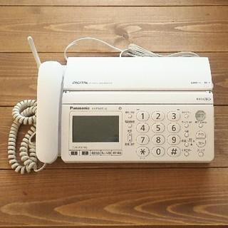 Panasonic - 固定電話 Panasonic kx-pw320-w