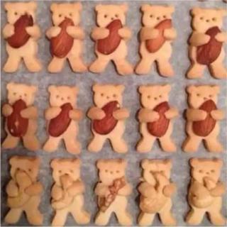 抱っこくまクッキー型
