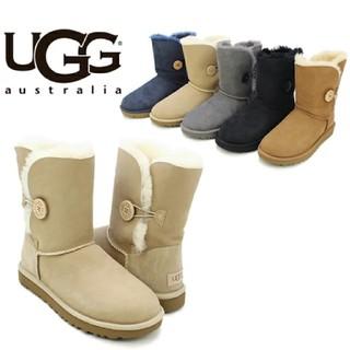UGG - UGG アグ ベイリーボタン ムートンブーツ シープスキン