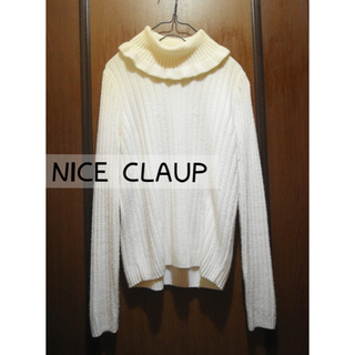one after another NICE CLAUP - NICE CLAUP   タートルネックニット