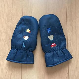 ファミリア(familiar)のファミリア 手袋 ネイビー(手袋)