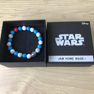JAM HOME MADE & ready made - STAR WARS × JAM HOME MADE R2-D2ビーズブレスレット