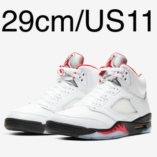 NIKE - 29 AIR JORDAN 5 RETRO OG FIRE RED AJ5 新品