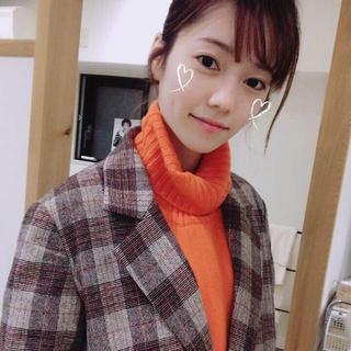 エーケービーフォーティーエイト(AKB48)のqalb ニット ぱるる 島崎遥香着用(ニット/セーター)