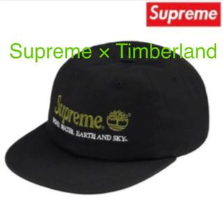 シュプリーム(Supreme)のSupreme Timberland 6-Panel Black(キャップ)
