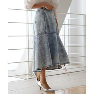 ストロベリーフィールズ(STRAWBERRY-FIELDS)の美品 フランボワーズ スカート(ロングスカート)