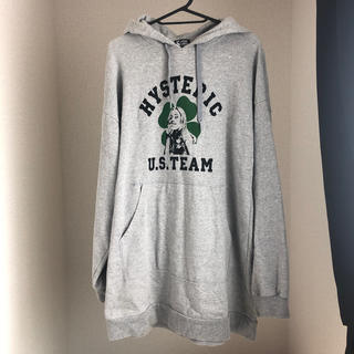 HYSTERIC GLAMOUR - HYSTERIC GLAMOUR パーカー グレー FREE