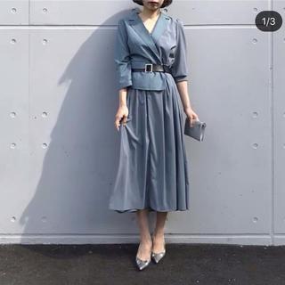 Ameri VINTAGE - AMERI TRINITY JKT DRESS ベルト付きワンピース正規品