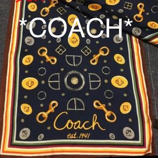 COACH - コーチ スカーフ シルク100%