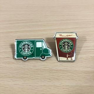 Starbucks Coffee - スターバックス ピンバッジ グリーンエプロンカフェカー