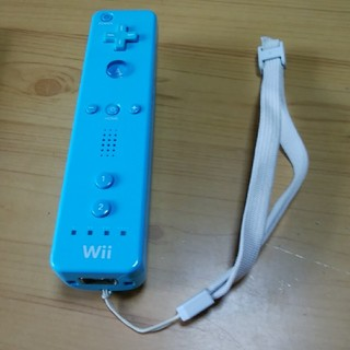 Wii - wiiリモコン 水色