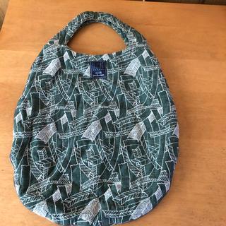 mina perhonen - ミナペルホネン エッグバッグ グリーンに刺繍