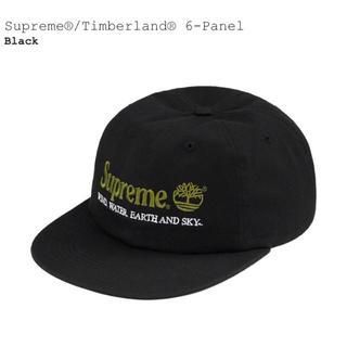 シュプリーム(Supreme)のSupreme Timberland 6-Panel Cap キャップ ブラック(キャップ)