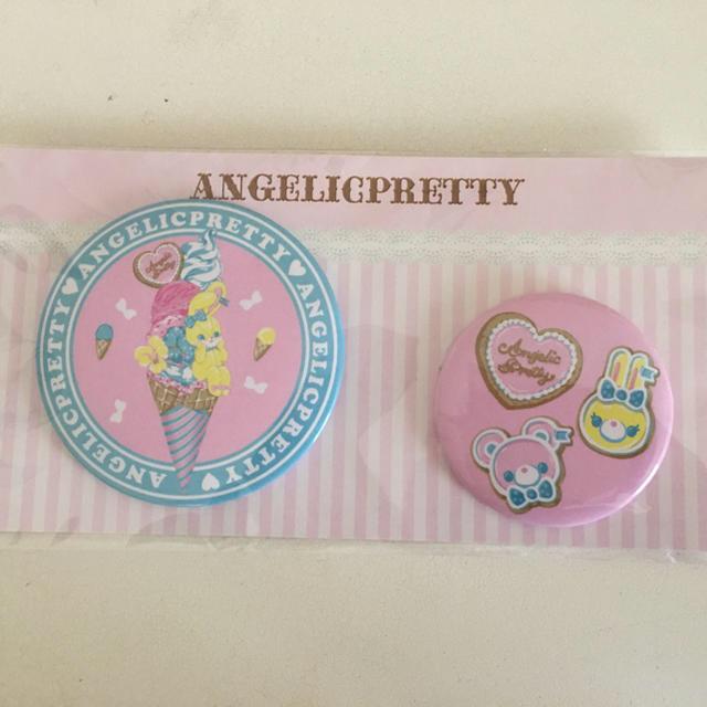 Angelic Pretty(アンジェリックプリティー)の缶バッジ エンタメ/ホビーのアニメグッズ(バッジ/ピンバッジ)の商品写真