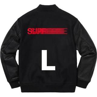 Supreme - supreme motion logo varsity jacket L