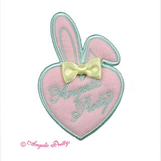 Angelic Pretty - Angelic pretty Happiness Bunnyクリップ ピンク