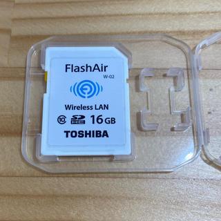 トウシバ(東芝)のTOSHBA FlashAir SDカード(PC周辺機器)