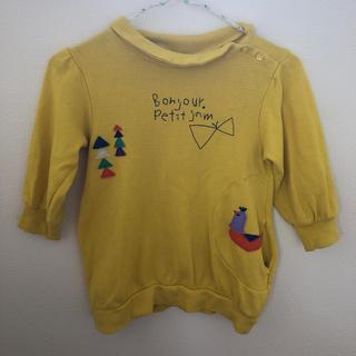 プチジャム(Petit jam)のプチジャム トレーナー チュニック 110(Tシャツ/カットソー)