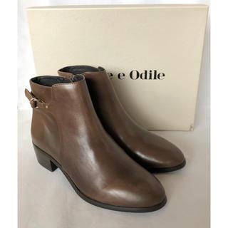 Odette e Odile - 新品未使用 Odette e Odile 本革 シングルベルト 春ブーツ