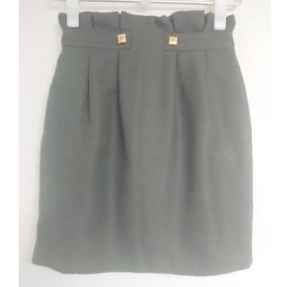 Lily Brown - Lily Brown コクーンスカート 0 オリーブグリーン
