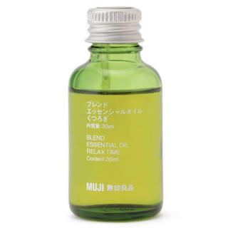 MUJI (無印良品) - 無印良品MUJI ブレンドエッセンシャルオイル・くつろぎ 30ml