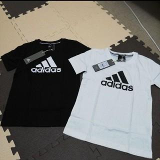adidas - !新品タグつきadidas Tシャツ 130センチ 2枚組