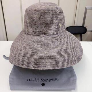 ヘレンカミンスキー(HELEN KAMINSKI)の新品!HELEN KAMINSKI ラフィア ハット(麦わら帽子/ストローハット)
