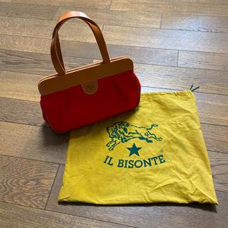 イルビゾンテ(IL BISONTE)のIL BISONTE キャンバスハンドバッグ(ハンドバッグ)