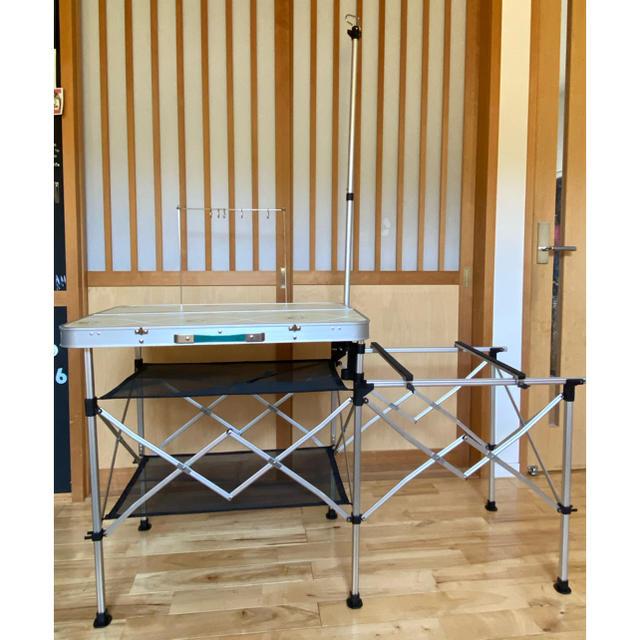 Coleman(コールマン)のコールマン キッチン インテリア/住まい/日用品の机/テーブル(アウトドアテーブル)の商品写真