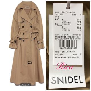 snidel - 新品🌷スナイデル 3WAYトレンチコート