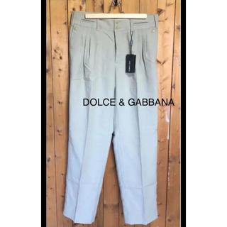 ドルチェアンドガッバーナ(DOLCE&GABBANA)の新品未使用 DOLCE & GABBANA(ワークパンツ/カーゴパンツ)