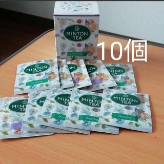ミントン(MINTON)の未使用 ダージリンティー&セイロン 10個(茶)