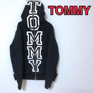 トミー(TOMMY)のトミー ジップパーカー ビッグシルエット TOMMY 【美品】(パーカー)